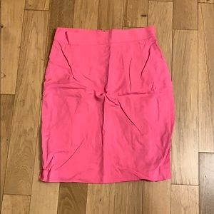 Women's pink skirt made in Italy